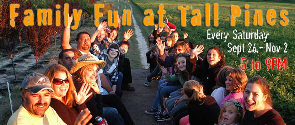 Family Haunted Hayride, Family Haunted Hike, Family Halloween Activities