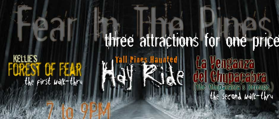 Haunted Hayride, Haunted Hike, Halloween Activities